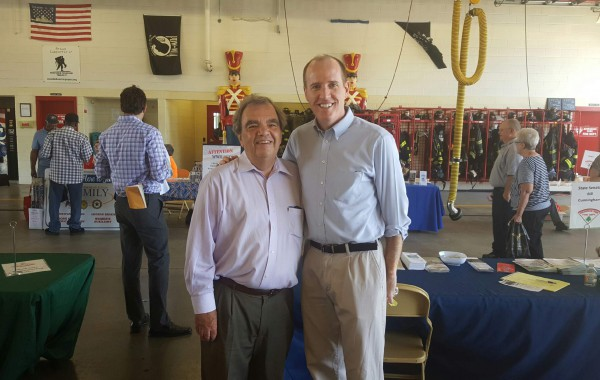 Village of Evergreen Park Senior Fair – Pictured with Commissioner  John Daley.