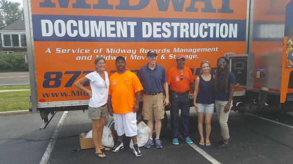 Shred Event on July 21, 2017